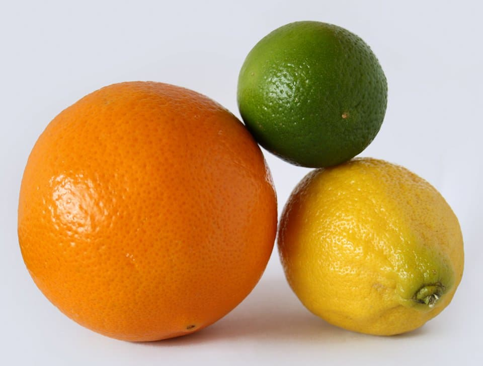 Citrus vodka ingredients