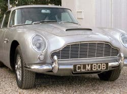 Aston Martin DB5 used in Goldfinger and Thunderball.