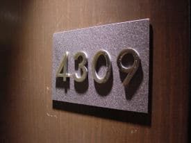 That's not room 4309, that's Club 4309.