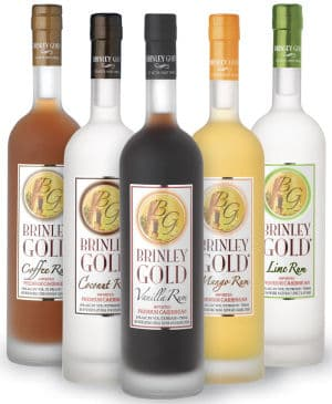 The Brinley line of rums.